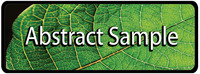 Leaf- Abstract-Sample-Button